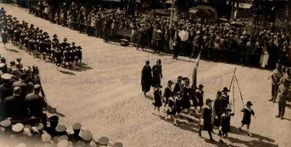 1925 desfile tacna