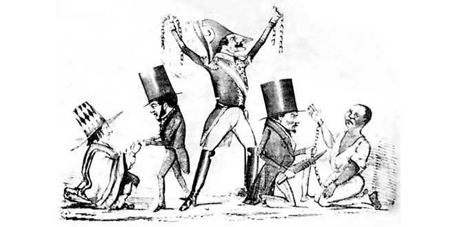 Abolición de la esclavitud por Ramón Castilla