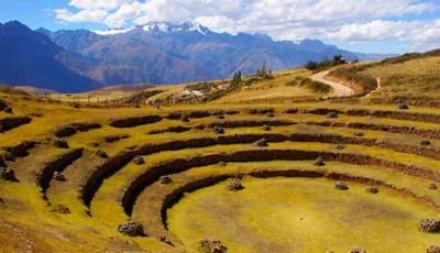 andenes pre inca