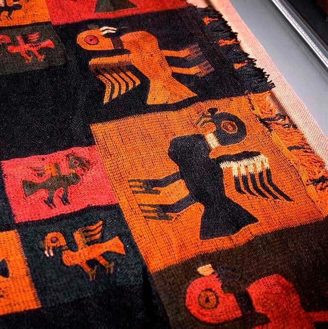 Arte textil de la Cultura Paracas
