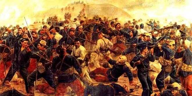 batalla arica