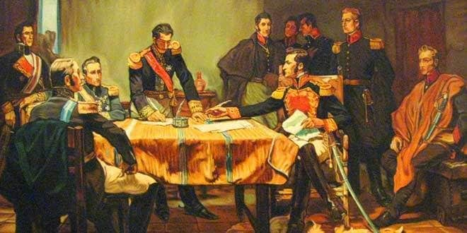 capitulacion ayacucho emancipacion