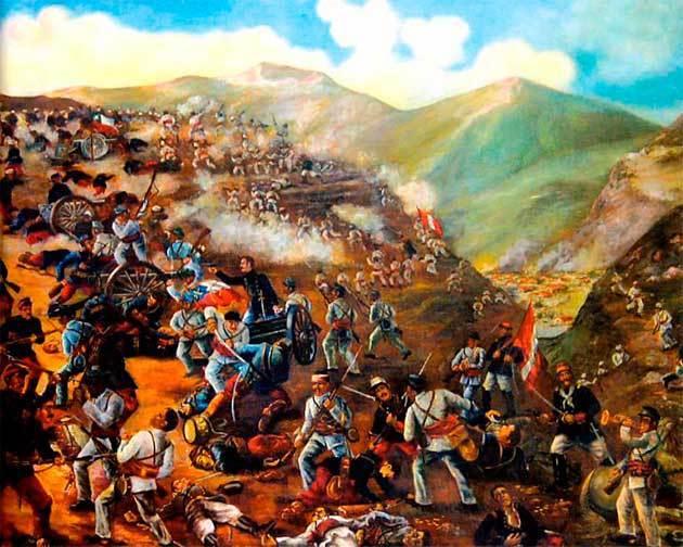 batalla tarapaca guerra del pacifico