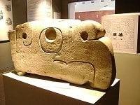 Cabeza de cóndor de la Cultura Chavín