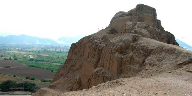 Castillo de Tomabal Cultura Gallinazo