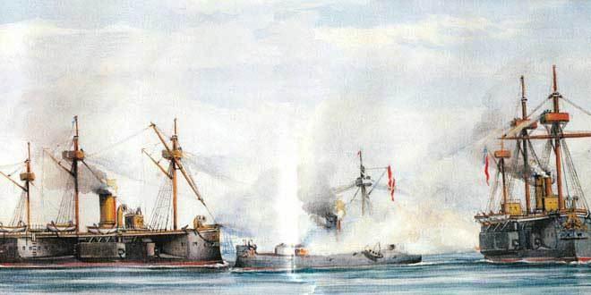 Combate de Angamos o del Pacífico