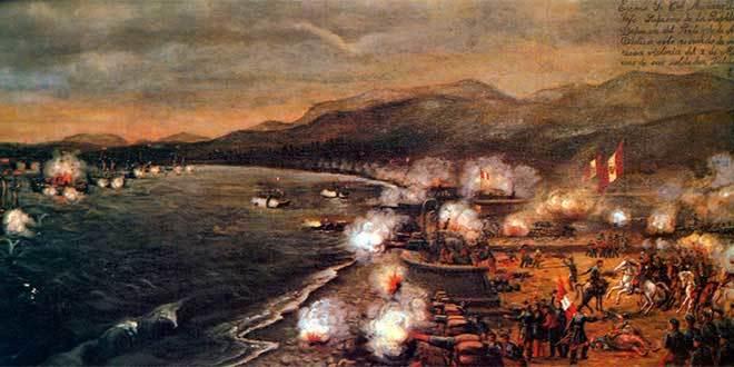 combate dos mayo guerra españa