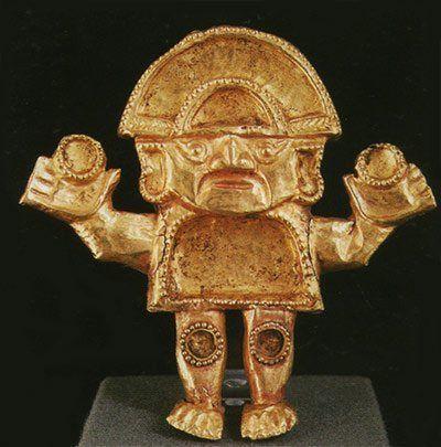 cultura lambayeque sican metalurgia naylamp