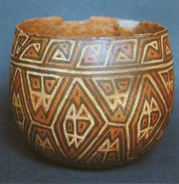 cultura lima ceramica cuenco piel serpiente