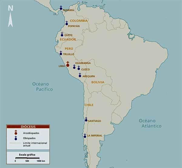 mapa diosesis iglesia colonia