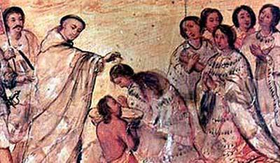 evangelizacion colonia peru