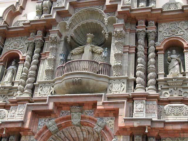 fachada iglesia la merced lima