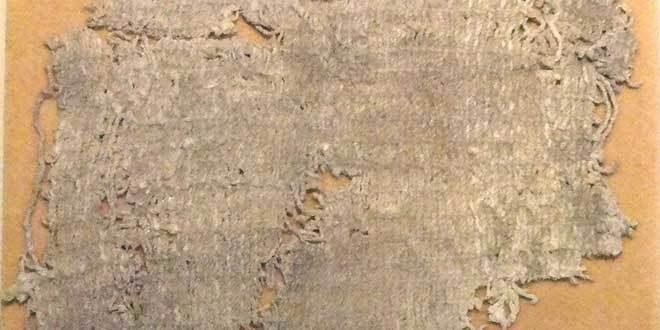 fragmento textil huaca prieta