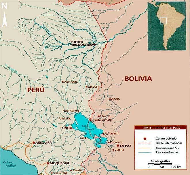 frontera peru bolivia