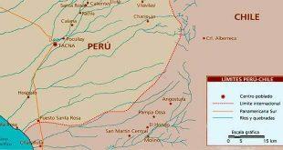 mapa frontera peru chile portada
