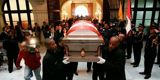 Funeral de Alberto Andrade Carmona