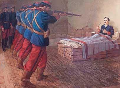 Fusilamiento de Leoncio Prado