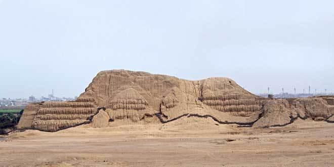 Huaca del Sol Cultura Mochica