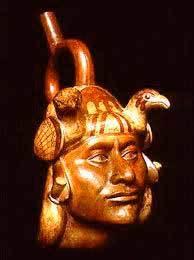 Huaco retrato de la Cultura Mochica