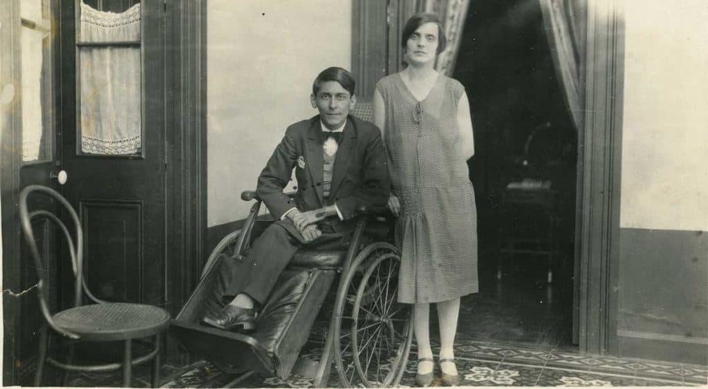 José Carlos Mariátegui y Anna Chiappe