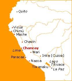 Mapa de la Cultura Chancay