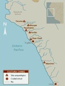 mapa cultura chimu