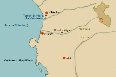 mapa cultura chincha