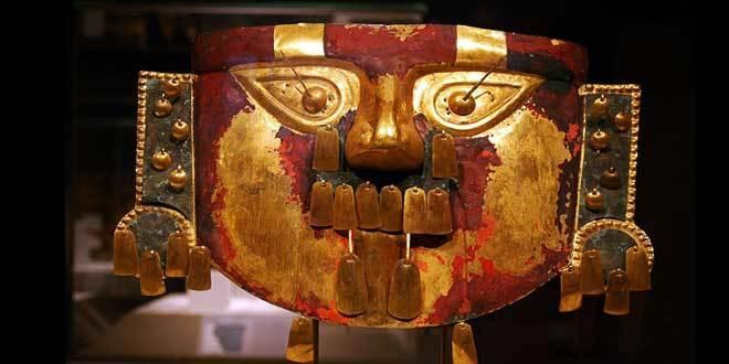 mascara funeraria cultura lambayeque