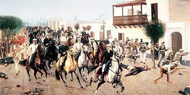 Entrada a Cocharcas de Nicolás de Piérola