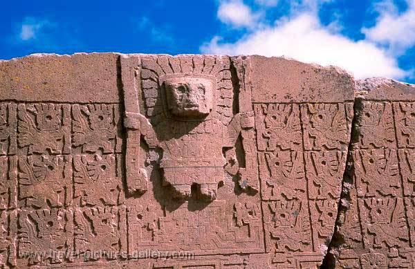 Portada del Sol - Cultura Tiahuanaco
