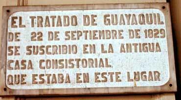 tratado de guayaquil con peru
